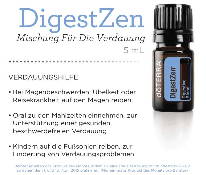 Digest Zen Öl Mischung