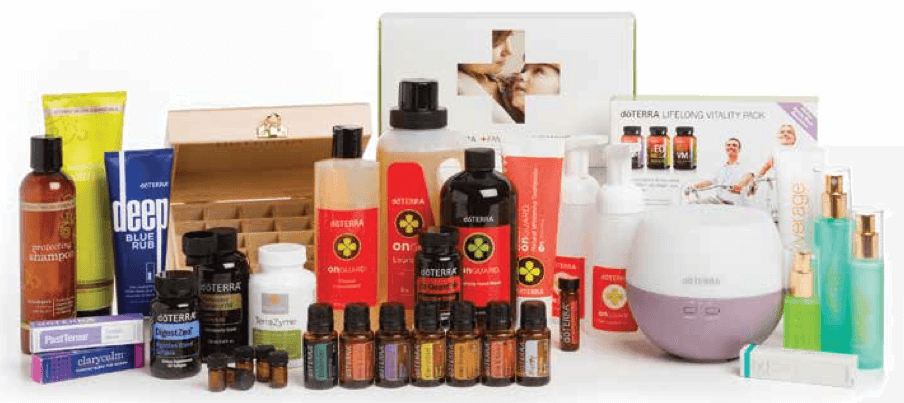 Natural Solutions Kit doTERRA Öle Set