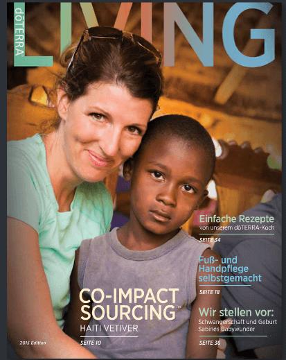 doTERRA Living Deutsch Cover