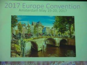 Termin zum Vormerken: Nächstes Jahr findet die Convention am 19. und 20. Mai in Amsterdam statt. Nicht verpassen!